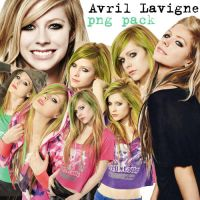 Avril Lavigne Pack PNG by HelpMetoFly
