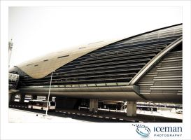 Dubai Metro Station 01 by IcemanUK
