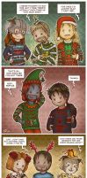 TES: Ugly Christmas Sweaters by Isriana
