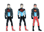DC2 Superboy sketches - final by herrenmedia