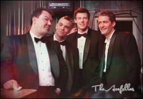 Glee: The Acafellas by doombo-saves-the-day