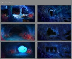 Cave Concepts by NaruLeiin