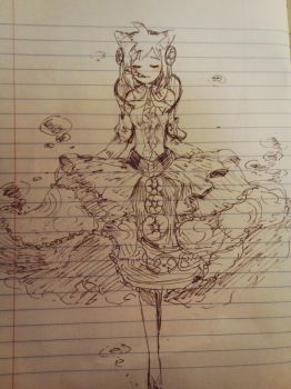 Nimue Amy doodle by yimchingtung