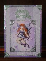 Beths Lilac Fairy Card by blackrose1959