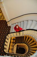 Amy Pond-Timey Wimey Staircase by moonflower-lights