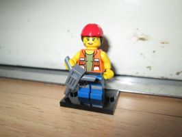 LEGO Movie - Gail the construction worker (71004) by KrytenMarkGen-0