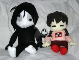 Mado et Secom Plushies by MushroomStomper