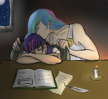 Sweet Dreams, My Faithful Student by Chilly-chan