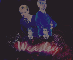 Weasley-twins by SauceRetro