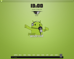 Almost Droid Screenshot by fabricioabella