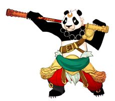 Smite - Panda kung by Zennore