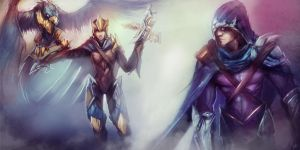 League of Legends Rivals: Quinn/Valor vs Talon by ArtisticPhenom
