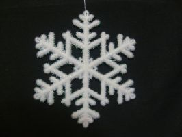 snowflake decoration by Ptooey-stock