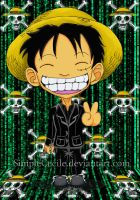 Matrix D. Luffy by SimpleCecile