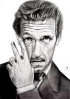 Dr. House by tanjadrawing