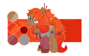 knitting themed show style adopt! [OPEN - OTA] by sharksicle