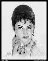 Ava Gardner by iSaBeL-MR