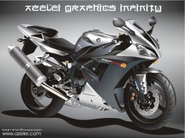 YAMAHA YZF R1 by: Lester Pudol by ter213tst