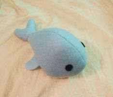 Whale Plushie 3 by Number1FMAfangirl
