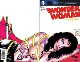 Wonder Woman Nude Cover by samrogers