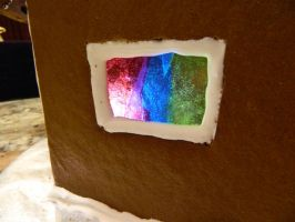 Stained glass for gingerbread by DPBJewelry