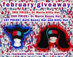 FEBRUARY FREE HAT GIVEAWAY by HatcoreHats