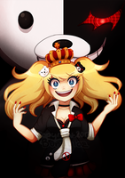 DR SPOILER!!!! Bow Down to the Queen of Despair by Bunnyloz