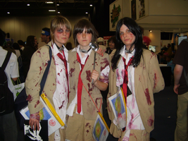 London Expo 2007 Battle Royale by Trashbat