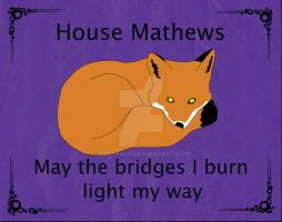 Mathews House Sigil by kacyface
