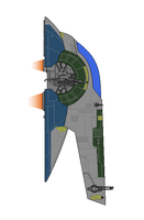 Star Wars Jango's Slave 1 by Seeras