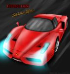 Ferrari Enzo -Sketch 2 Effectz by Axertion