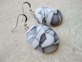 Mosaic Clay Earrings by SMAfactory