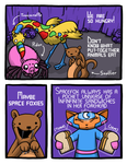 Spacefox Page 5: Pocket Universe of Sandwiches by Starflier