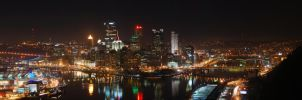 Pittsburgh - First Panorama by GTX-Media
