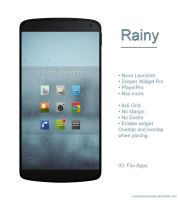 Rainy the app holder :) by revestianieorange