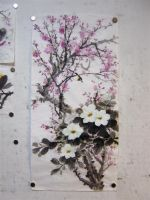 Chinese Painting - Flowers 1 by silaswu