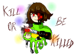 Kill or be killed (Pixel Chara) by Lord-32