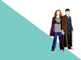 Doctor Who Wallpaper by glittersprite