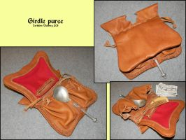Girdle purse by Noctiped