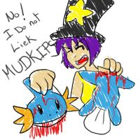 No i do not liek mudkips by CharlotteWindchaser