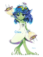 chibi commission: Clieo by deaeru