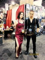 Jake Muller and Ada Wong by NikkySic