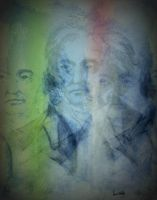 The many faces of Beethoven by lindavanderberg