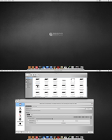 Arch KDE 4.9RC2 BE:SHELL/Bespin by CraazyT