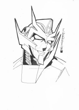 Festival Of Lost Light 31. Rodimus by BenPirrieArt