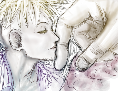 OP Finger kissus by Nire-chan