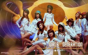 SNSD Tell Me Your Wish Wall by ganyonk