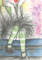 Punk Rock Prom Queen by fashion-tragedy