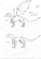 Dracolisk concept by Dinoboy134