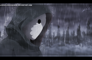 Naruto 606: Obito bajo la lluvia by LiderAlianzaShinobi